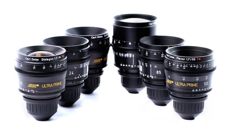 Zeiss Ultra Primes T1.9 Set