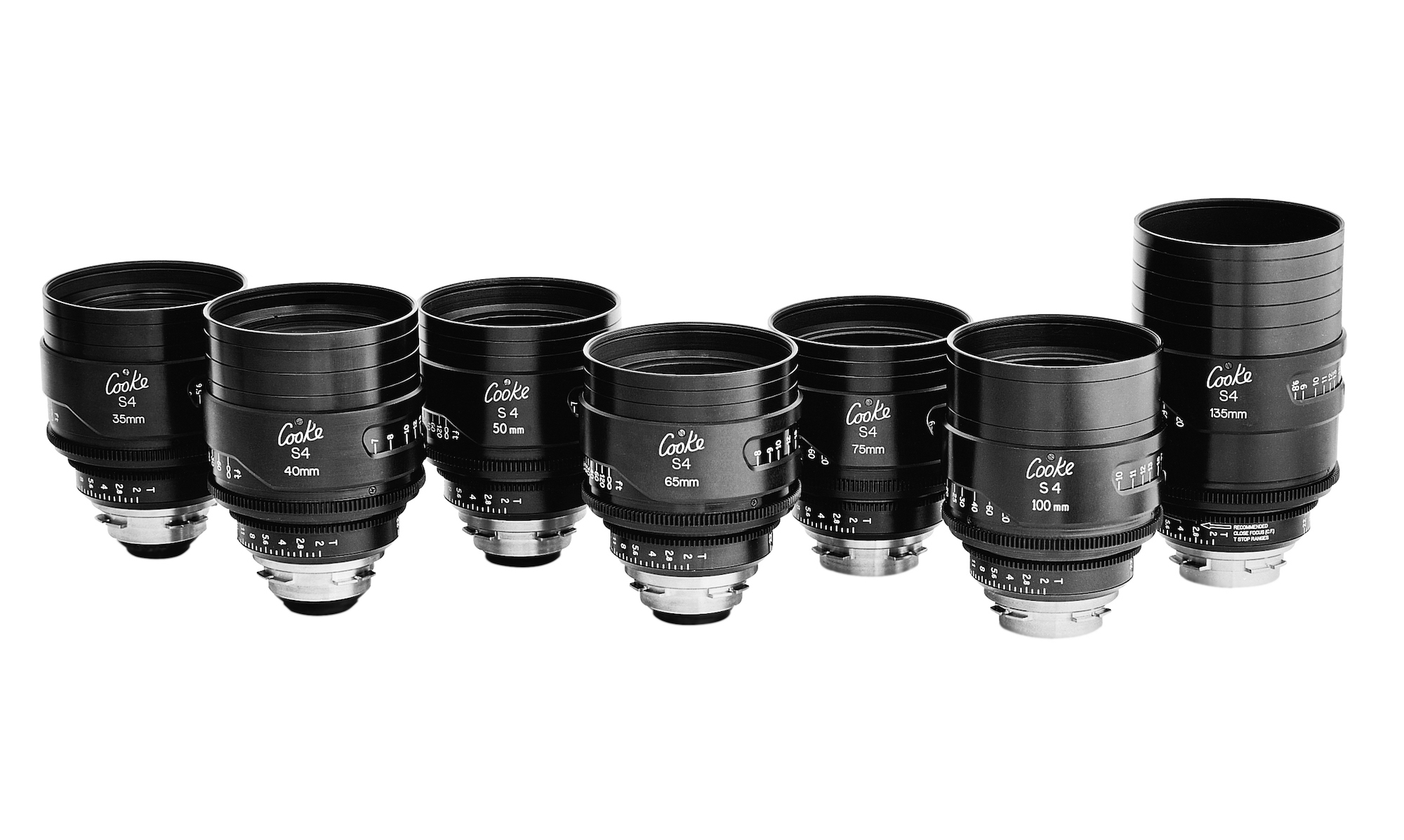 Cooke S4 T2.0 Prime Lenses