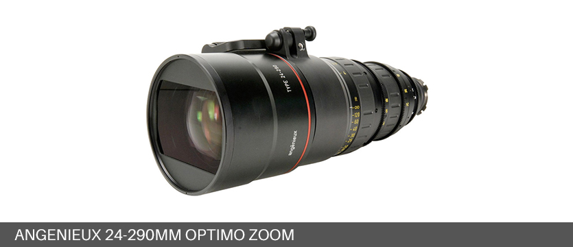 Angenieux 24-290mm Optimo Zoom