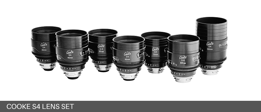 Cooke S4 Lens Set