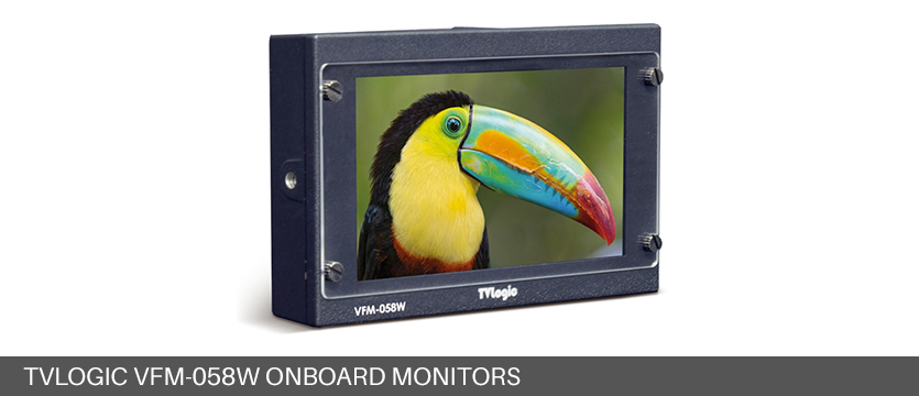 TVLogic VFM-058W Onboard Monitors