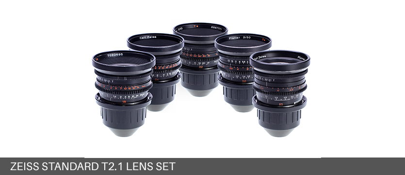 Zeiss Standard T2.1 Lens Set